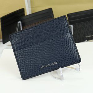 Michael Kors Mens Thin Slim Credit Card Navy